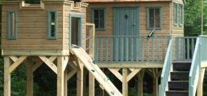 детский домик на даче своими руками фото и идеи
