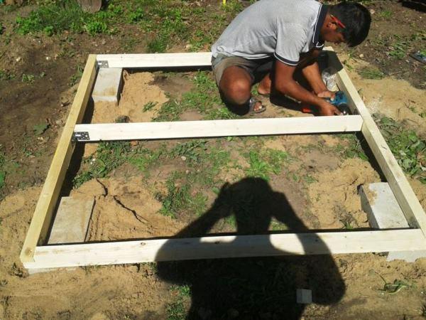 детский домик на даче своими руками фото 10