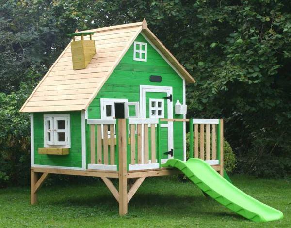 Как разукрасить детский домик на даче фото